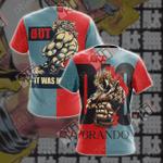 JoJo's Bizarre Adventure New Style Unisex 3D T-shirt