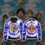 One Piece Unisex Zip Up Hoodie Jacket