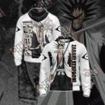 Bleach - Zaraki Kenpachi New Style Unisex Zip Up Hoodie Jacket