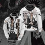Bleach - Zaraki Kenpachi New Style Unisex 3D Hoodie