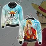 One Piece - Luffy Unisex Zip Up Hoodie Jacket