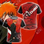 Bleach - Ichigo New Style Unisex 3D T-shirt