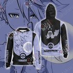 Digimon - Gabumon New Version Unisex Zip Up Hoodie