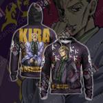 JoJo's Bizarre Adventure - Yoshikage Kira Unisex Zip Up Hoodie