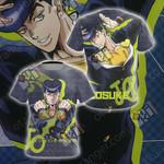 JoJo's Bizarre Adventure - Josuke Higashikata Unisex 3D T-shirt