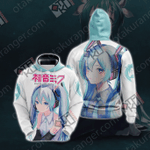 Hatsune Miku Unisex 3D Hoodie