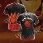 Naruto - Kurama Unisex 3D T-shirt