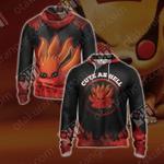Naruto - Kurama Unisex Zip Up Hoodie Jacket