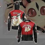 Inuyasha: Kirara Unisex Zip Up Hoodie Jacket