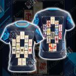 Digimon Monster - Knights of Yggdrasil Unisex 3D T-shirt