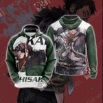 My Hero Academia - Chisaki Kai/Overhaul Unisex 3D Hoodie