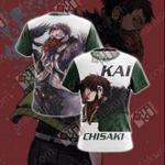 My Hero Academia - Chisaki Kai/Overhaul Unisex 3D T-shirt
