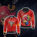One Piece - Tony Tony Chopper Unisex Zip Up Hoodie Jacket