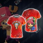 One Piece - Tony Tony Chopper Unisex 3D T-shirt