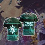 Digimon - Friendship means Courage Unisex 3D T-shirt