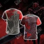 Berserker Armor Unisex 3D T-shirt