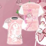 Puella Magi Madoka Magica - Madoka Kaname Unisex 3D T-shirt