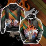 Naruto - All Tailed Beasts Unisex 3D Hoodie