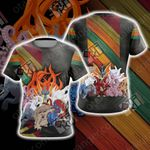 Naruto - All Tailed Beasts Unisex 3D T-shirt