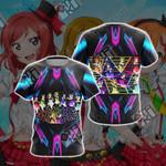 Love Live! Unisex 3D T-shirt