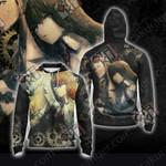 Steins;Gate - Makise Kurisu And Okabe Rintarou Unisex Zip Up Hoodie Jacket
