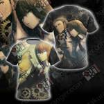 Steins;Gate - Makise Kurisu And Okabe Rintarou Unisex 3D T-shirt
