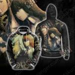 Steins;Gate - Makise Kurisu And Okabe Rintarou Unisex 3D Hoodie