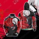 Tokyo Ghoul : Re-Kaneki Ken Unisex 3D Hoodie
