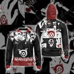 Fullmetal Alchemist: Brotherhood - Homunculus Unisex Zip Up Hoodie Jacket