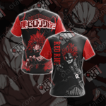 My Hero Academia - Red Riot Unisex 3D T-shirt