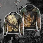 Vagabond - Miyamoto Musashi Unisex Zip Up Hoodie Jacket