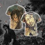 Vagabond - Miyamoto Musashi Unisex 3D T-shirt