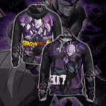 Dragon Ball Super Hit Unisex Zip Up Hoodie Jacket