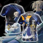 Fate/Extella: The Umbral Star Unisex 3D T-shirt
