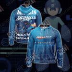 Mega Man Unisex Version 2019 Zip Up Hoodie