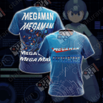 Mega Man Unisex Version 2019 Unisex 3D T-shirt