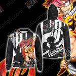 Fairy Tail - Natsu Unisex Zip Up Hoodie Jacket