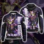 Yu-Gi-Oh! Capsule Monsters - Duel Armor Unisex 3D Zip Up Hoodie
