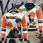 Haikyuu!! - Kageyama x Hinata Unisex Zip Up Hoodie Jacket