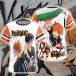 Haikyuu!! - Kageyama x Hinata Unisex 3D T-shirt
