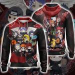 Naruto - Chibi Akatsuki Unisex Zip Up Hoodie Jacket