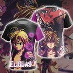 The seven deadly sins - Meliodas New Collecton Unisex 3D T-shirt