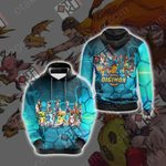 Digimon New Collection Unisex 3D Hoodie