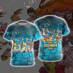Digimon New Collection Unisex 3D T-shirt