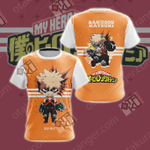 My Hero Academia - Bakugo Katsuki Unisex 3D T-shirt