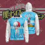 My Hero Academia - Todoroki Shoto Unisex Zip Up Hoodie