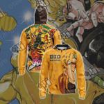 Jojo's Bizarre Adventure - Dio Brando Unisex Zip Up Hoodie Jacket