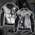 Bleach New Collection Unisex Zip Up Hoodie Jacket