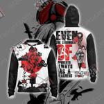 Naruto - Itachi Unisex Zip Up Hoodie Jacket