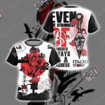 Naruto - Itachi Unisex 3D T-shirt